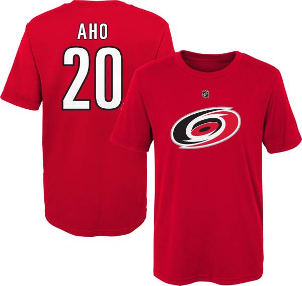 NHL Youth Carolina Hurricanes Sebastian Aho #20 Red Player T-Shirt product image