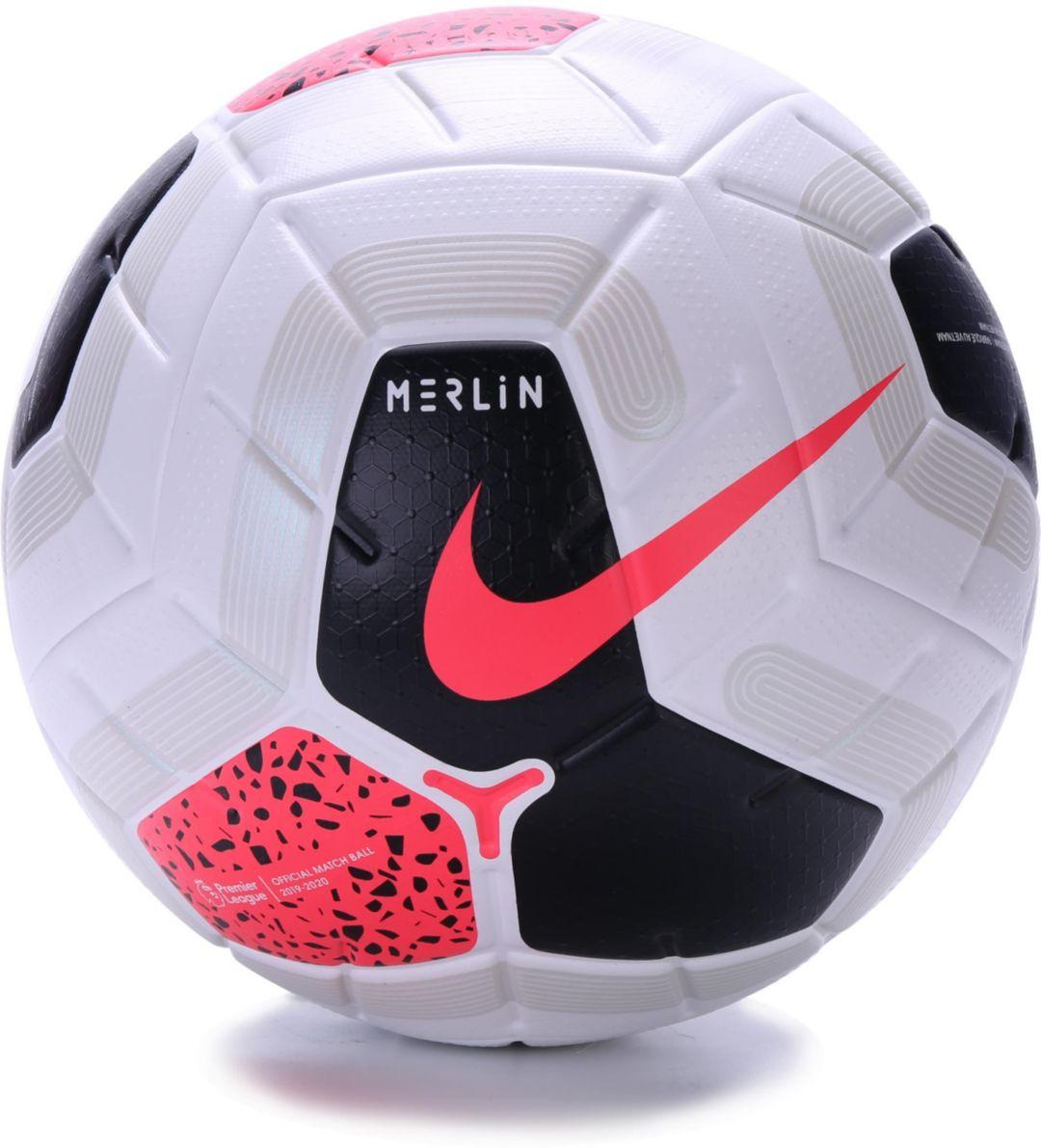 1969c5169a Nike 2019 Merlin Premier League Official Match Soccer Ball