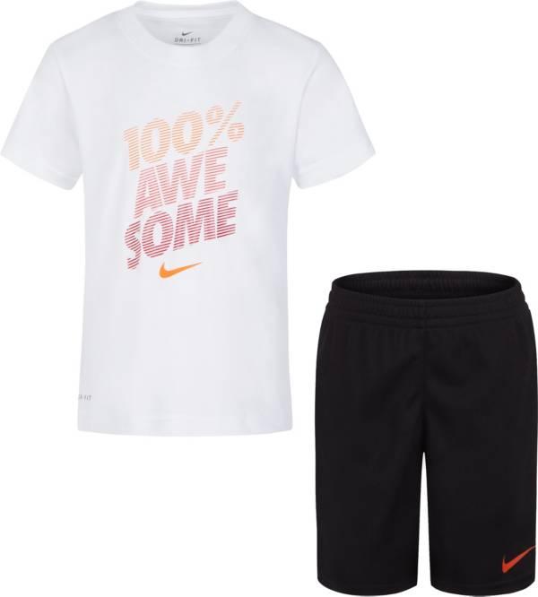 Nike Boys' Dri-FIT 100% Awesome T-shirt and Shorts Set product image