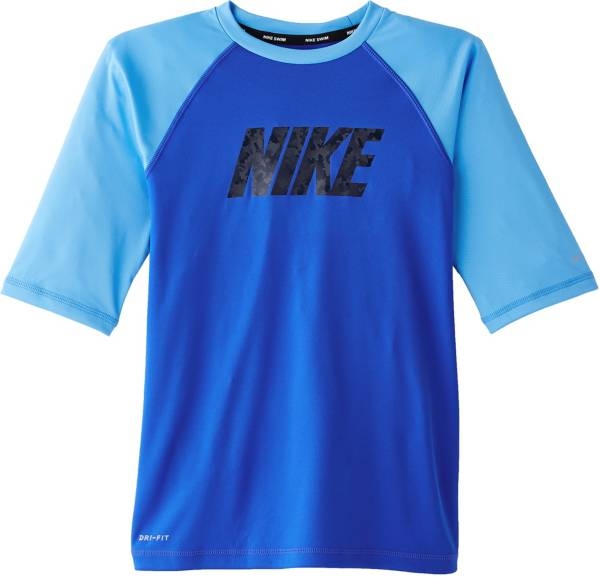 Nike Boys' Logo Half Sleeve Rash Guard product image