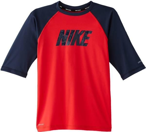 Nike Boys' Logo Half Sleeve Rash Guard product image