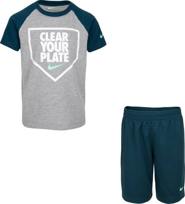 Nike Boys' Baseball Clear Your Plate Graphic T-Shirt and Shorts Set product image