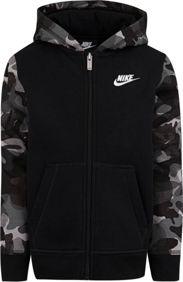 Nike Little Boys' Fleece Camo Full Zip Hoodie product image