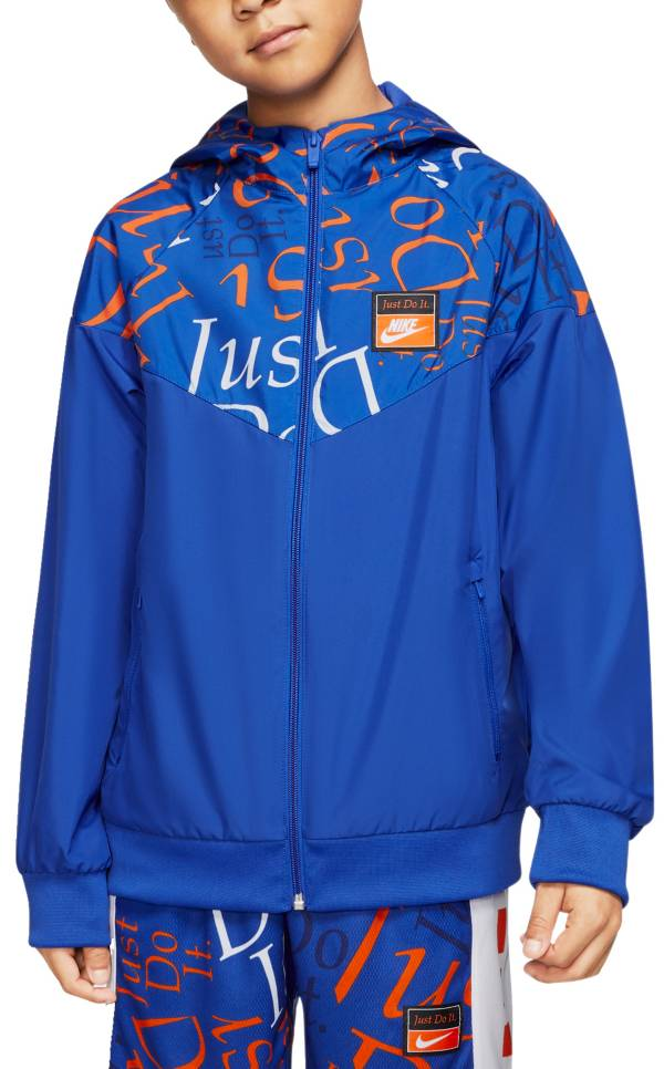 Nike Boys' Sportswear Just Do It Windrunner Jacket product image