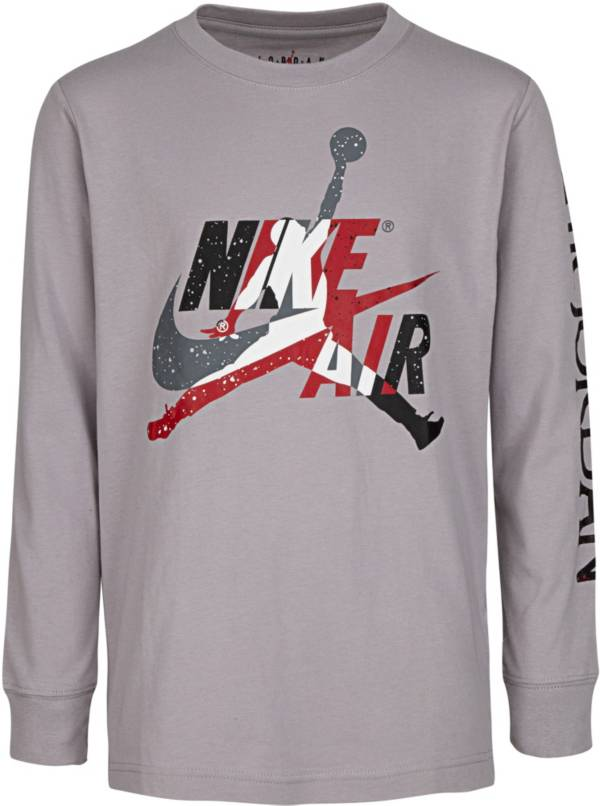 Nike Boys' Jumpman Classics Graphic Long Sleeve Shirt product image