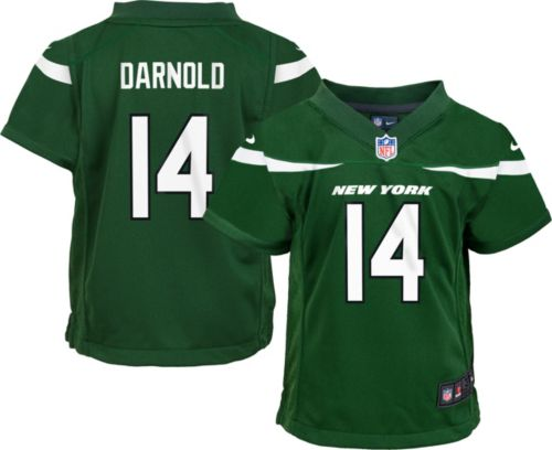 d47d55a6ad8e Nike Boys  Home Game Jersey New York Jets Sam Darnold  14