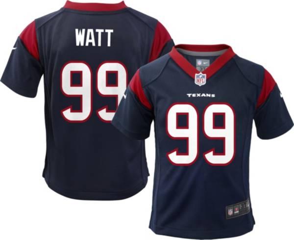 Nike Boys' Houston Texans J.J. Watt #99 Navy Game Jersey product image