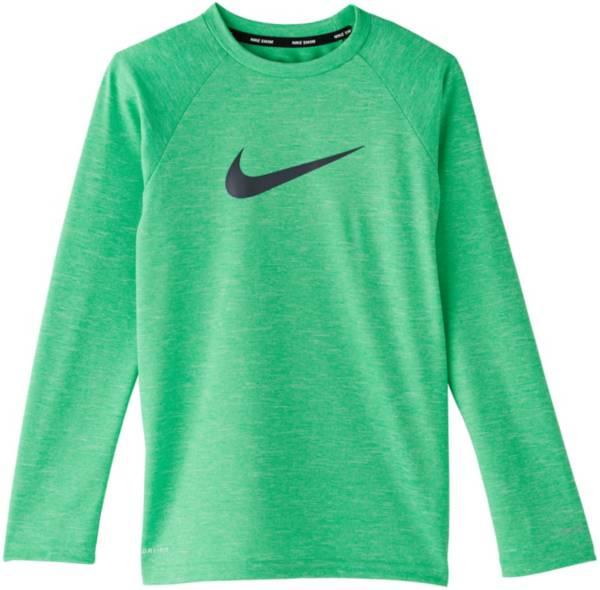 Nike Boys' Heather Hydro Long Sleeve Rash Guard product image
