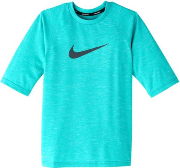 Nike Boys' Heather Hydro Half Sleeve Rash Guard product image