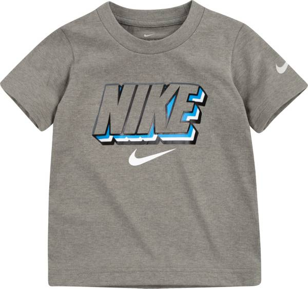 Nike Boys' Dri-FIT Block Logo Graphic T-Shirt product image
