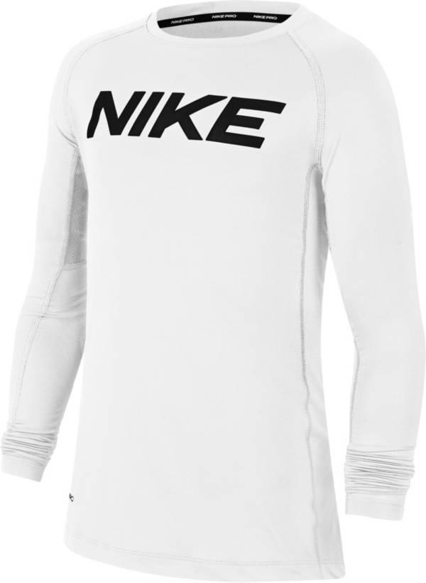 Nike Pro  Boys' Dri-FIT Training Long Sleeve Shirt product image
