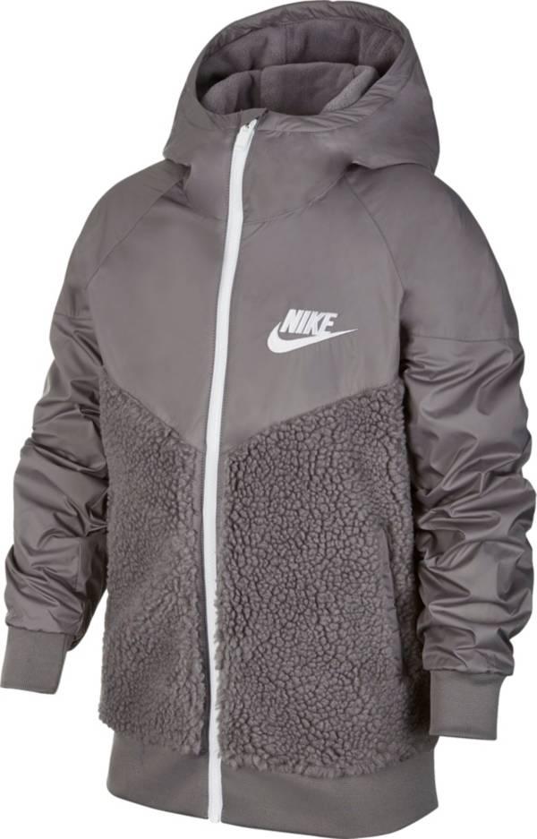 Nike Boys' Sportswear Sherpa Windrunner Jacket product image