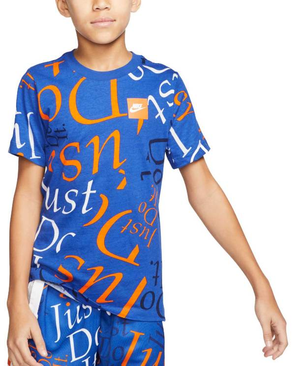 Nike Boys' Sportswear Just Do It Printed T-Shirt product image
