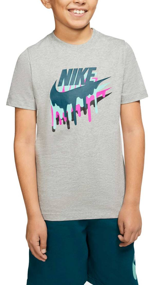 Nike Boys' Sportswear Melted Crayon Graphic T-Shirt product image