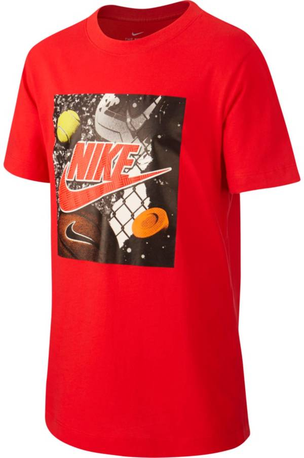 Nike Boys' Sportswear Multi Sport Graphic T-Shirt product image