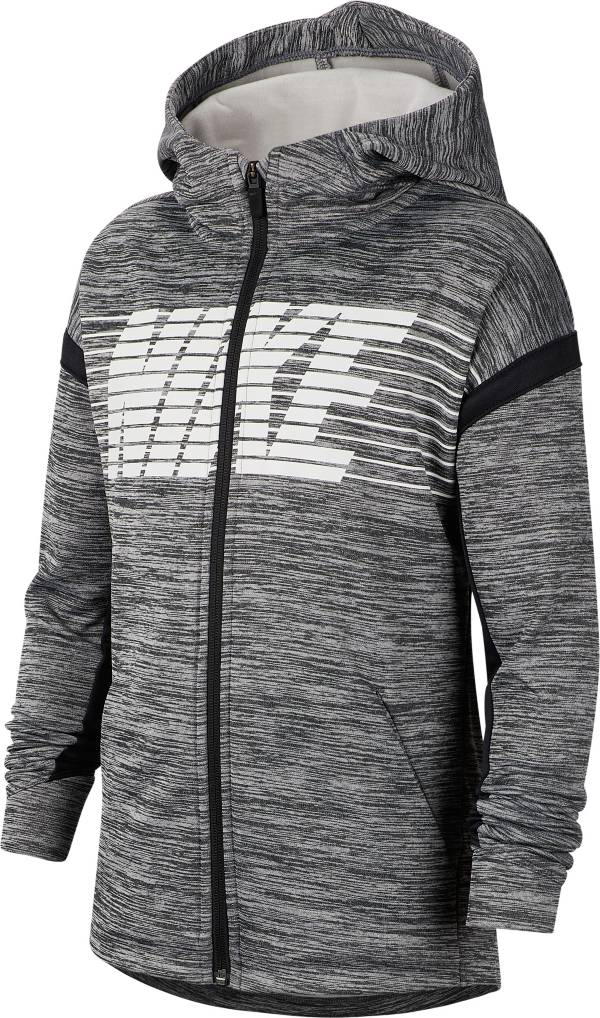 Nike Boys' Therma Graphic Full-Zip Hoodie product image