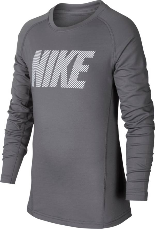 Nike Pro Boy's Therma Long Sleeve Shirt product image