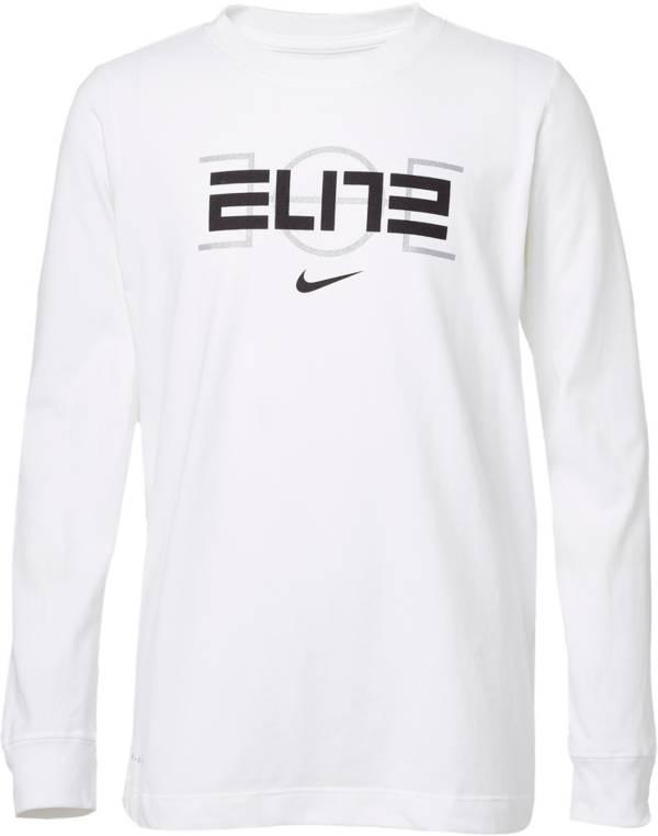 Nike Boys' Dri-FIT Elite Long Sleeve Shirt product image