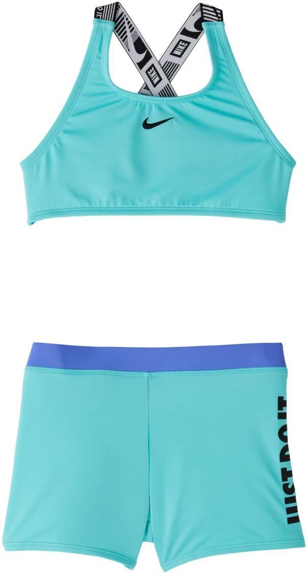 Nike Girls' JDI Crossback Sport Two Piece Swimsuit product image