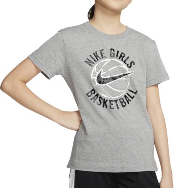 Nike Girls' Sportswear Basketball Droptail T-Shirt product image