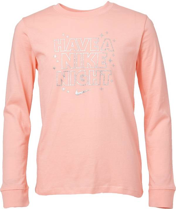 Nike Girls' Sportswear Long Sleeve Shirt product image