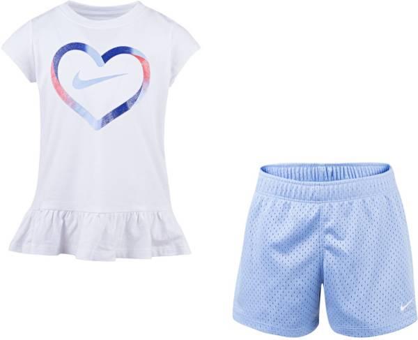 Nike Little Girls' Ruffle Top and Shorts Set product image