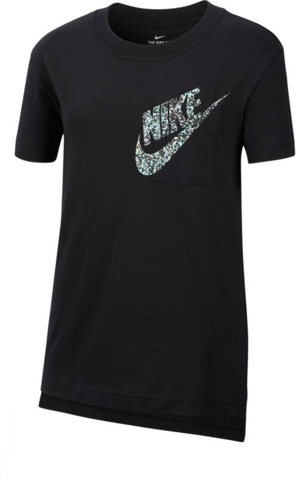 Nike Girls' Sportswear Graphic T-Shirt product image