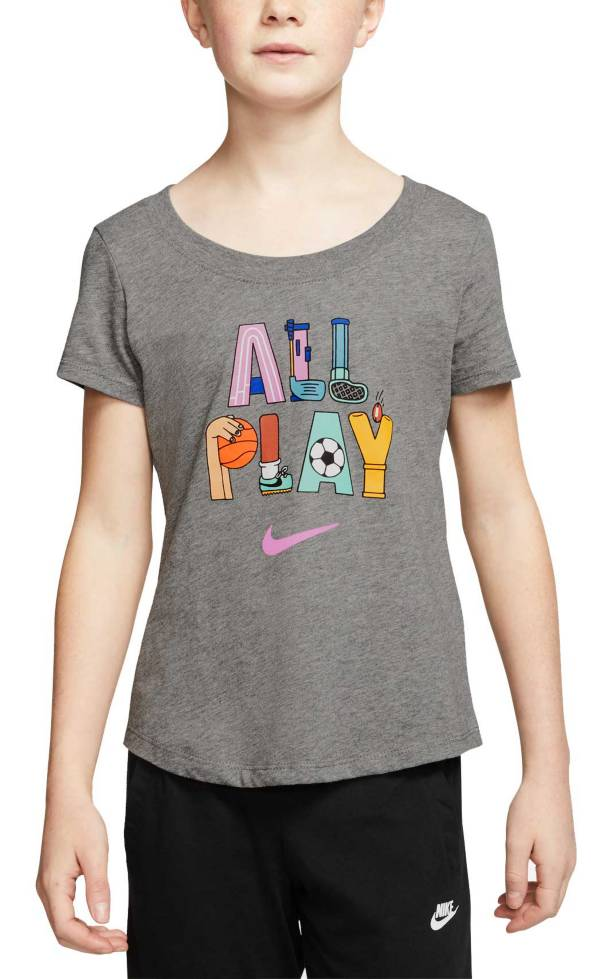 Nike Sportswear Girls' All Play Scoop Neckline Tee product image