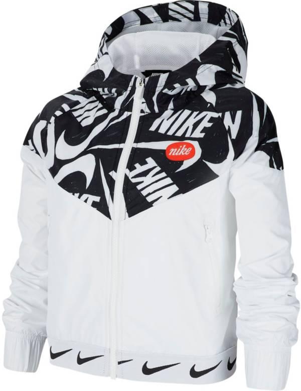 Nike Girls' Sportswear Printed Windrunner Jacket product image