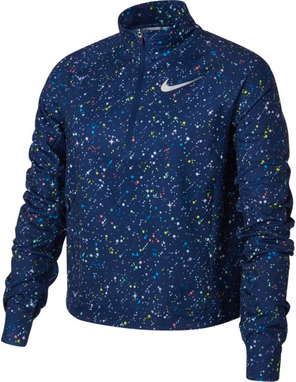 Nike Girl's Pro Warm Starry Night Half-Zip Pullover product image