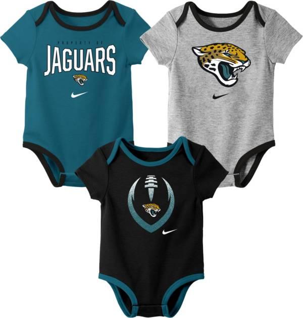 Nike Infant Jacksonville Jaguars Icon 3-Pack Bodysuit product image