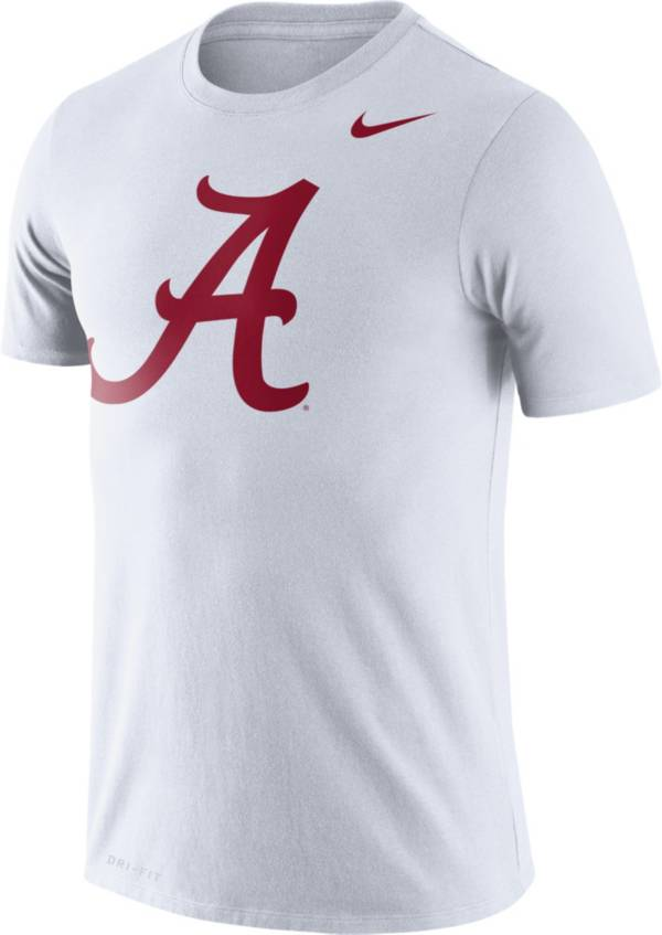 Nike Men's Alabama Crimson Tide Logo Dry Legend White T-Shirt product image