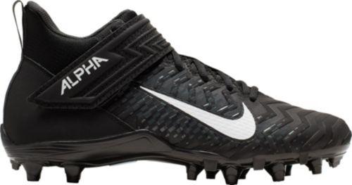 promo code fa5d5 ae65c Nike Men s Alpha Menace Shark 2 Mid Football Cleats