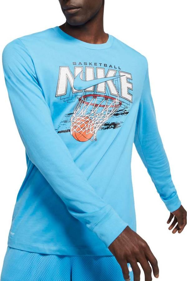 Nike Men's Dri-FIT Swish Graphic Basketball Long Sleeve Shirt product image