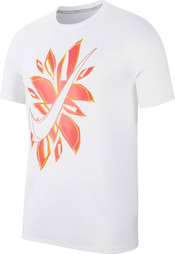 Nike Men's Fiesta Floral Graphic Running T-Shirt product image