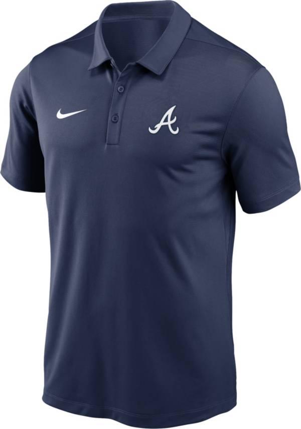 Nike Men's Atlanta Braves Navy Franchise Polo product image