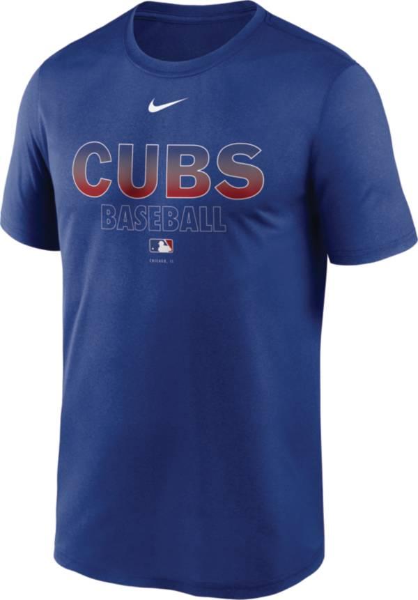 Nike Men's Chicago Cubs Blue Authentic Collection Legend Dri-FIT T-Shirt product image