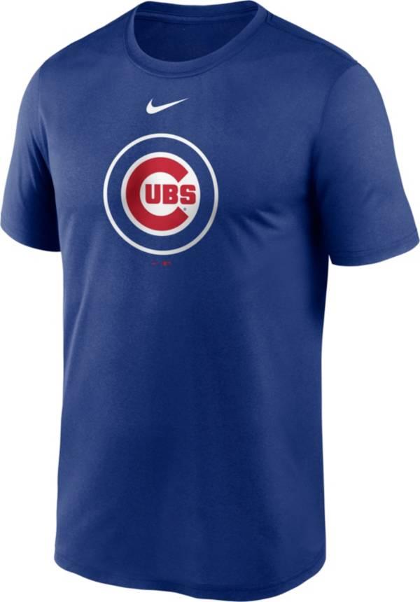 Nike Men's Chicago Cubs Blue Large Logo Legend Dri-FIT T-Shirt product image