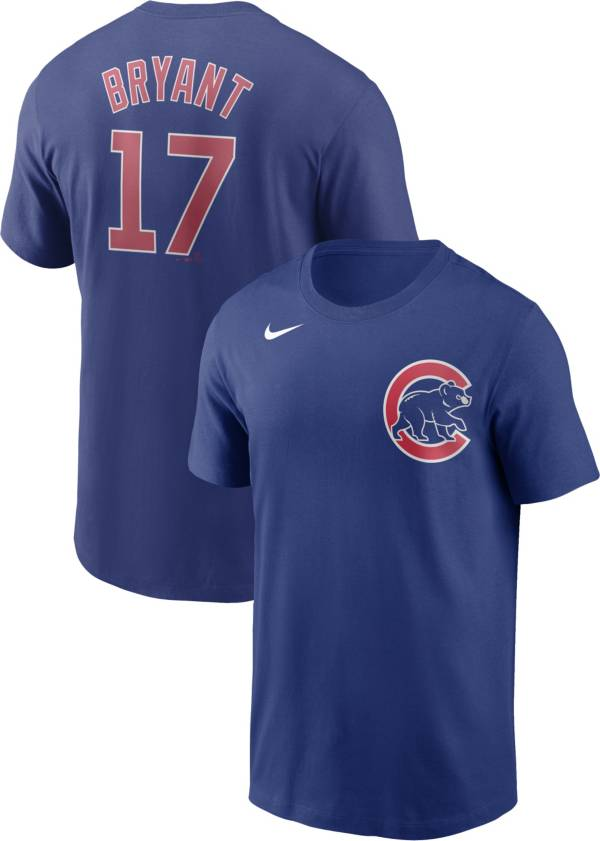 Nike Men's Chicago Cubs Kris Bryant #17 Blue T-Shirt product image