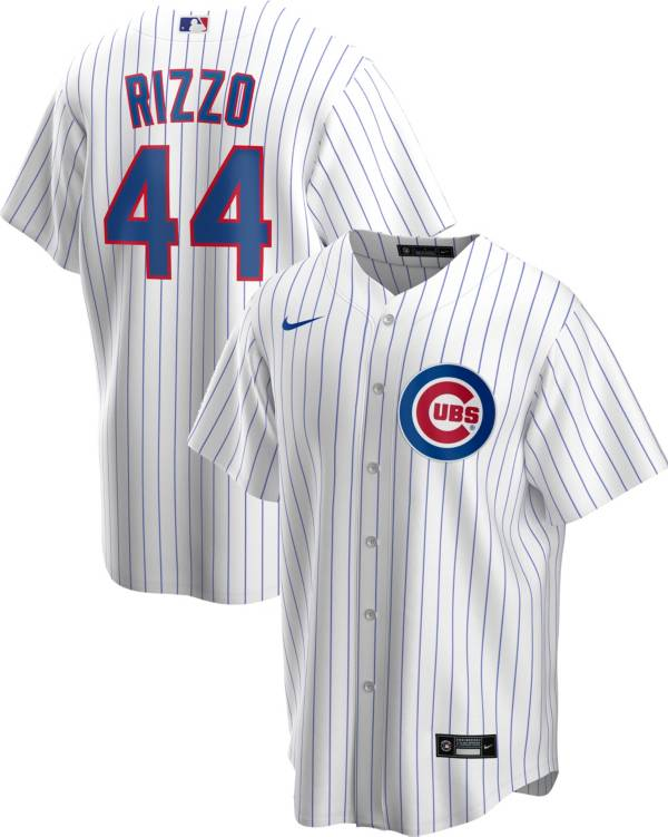 Nike Men's Replica Chicago Cubs Anthony Rizzo #44 White Cool Base Jersey product image