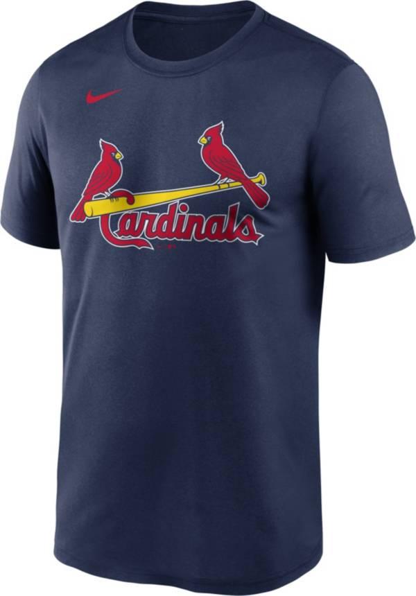 Nike Men's St. Louis Cardinals Navy Wordmark Legend Dri-FIT T-Shirt product image