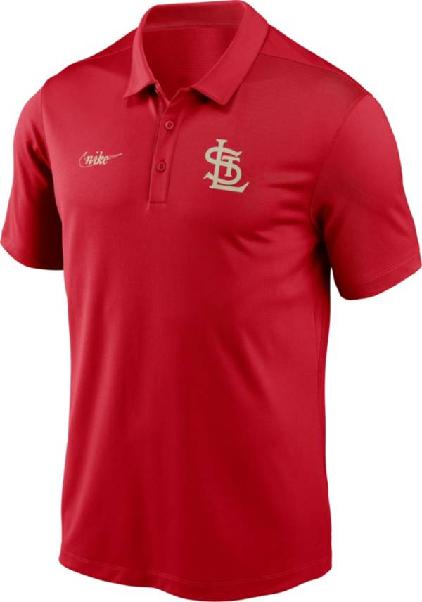 Nike Men's St. Louis Cardinals Red Cooperstown Vintage Dri-FIT Franchise Polo product image
