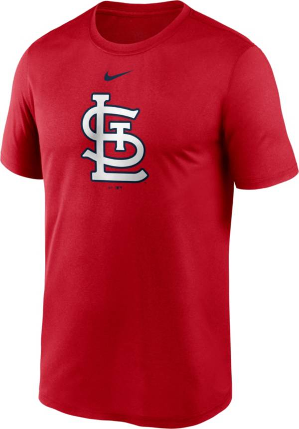 Nike Men's St. Louis Cardinals Red Large Logo Legend Dri-FIT T-Shirt product image