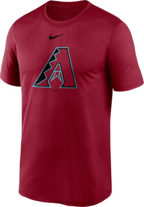 Nike Men's Arizona Diamondbacks Red Large Logo Legend Dri-FIT T-Shirt product image