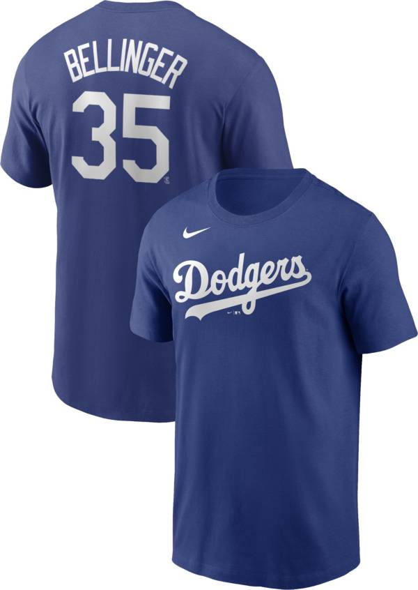 Nike Men's Los Angeles Dodgers Cody Bellinger #35 Blue T-Shirt product image