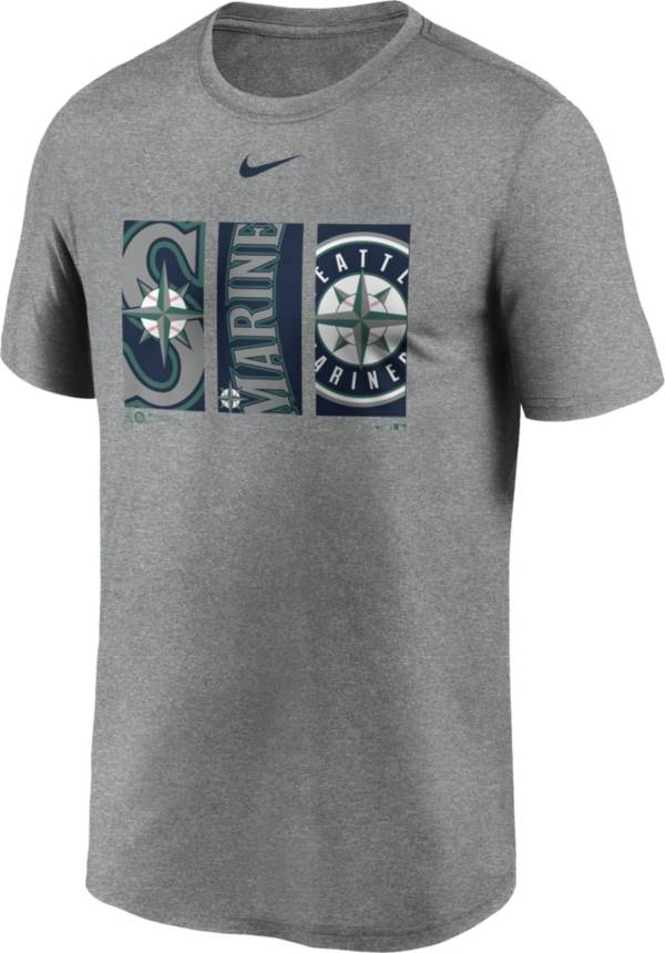 Nike Men's Seattle Mariners Grey Legend T-Shirt product image