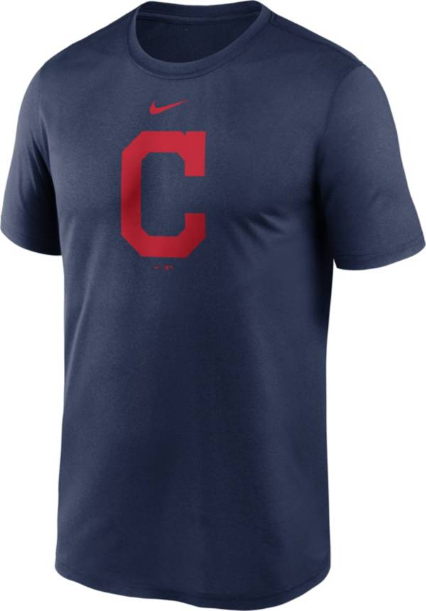 Nike Men's Cleveland Indians Navy Large Logo Legend Dri-FIT T-Shirt product image