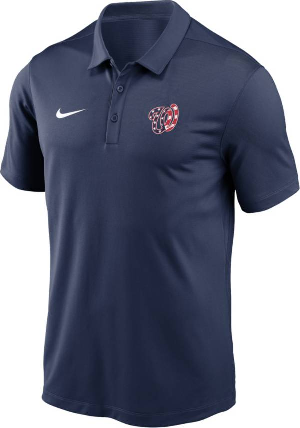 Nike Men's Washington Nationals Navy Dri-FIT Franchise Polo product image