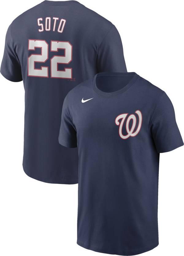Nike Men's Washington Nationals Juan Soto #22 Navy T-Shirt product image