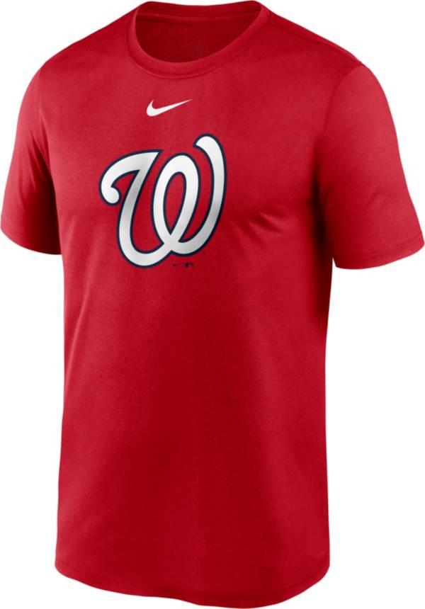Nike Men's Washington Nationals Red Large Logo Legend Dri-FIT T-Shirt product image